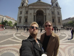 Always good catching up with best mates in crazy places - Budapest.