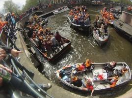 Kings Day, Amsterdam.