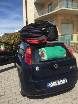 One of the funnier trips I've had - France to Portugal with no room to spare. To add to it, during this trip I launched Charlie Spike from the backseat and monitored as we went.