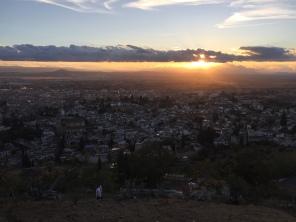 Granada from above...