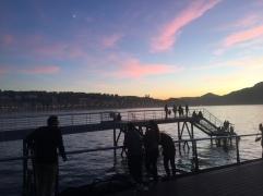 Another San Sebastien sunset.