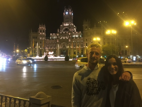My personal Madrid tour guide... Cannot wait to return the favour when I finally convince you to come to Australia