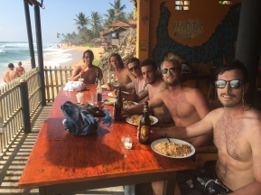 Cheap meals and good times in Sri Lanka.