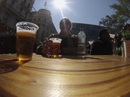 Sunny Budapest.