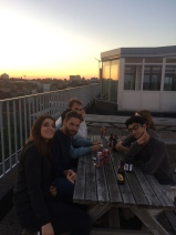 Rooftop beers in Belgium is something I will always miss. Especially