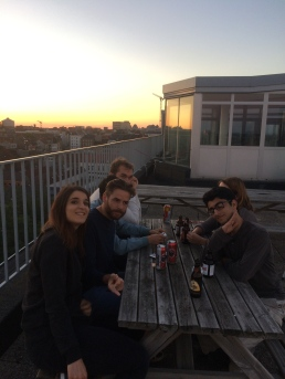 Rooftop beers in Belgium is something I will always miss. Especially