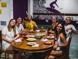 Hostel dinners - Plan to stay for one night, leave 11 nights later.